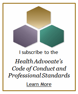 health Advocates code of conduct and professional standards